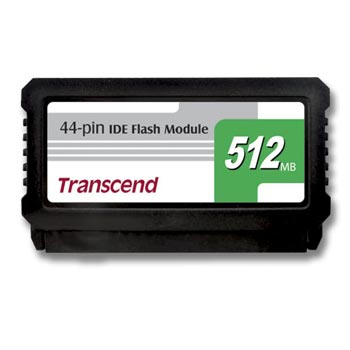 модуль Flash DOM Transcend 512 Мб IDE 44Pin  (Vertical)