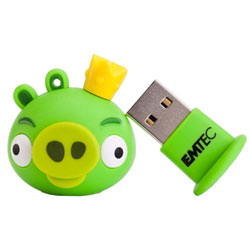 usb-flash drive / флешки 8Гб Angry Birds (King Pig)