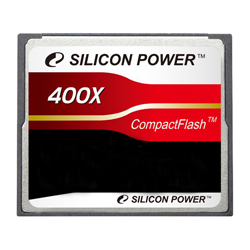 Карта памяти 32Гб Compact Flash Silicon Power  400X, SP032GBCFC400V10