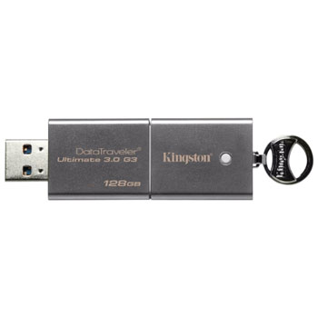 флешка 128GB Kingston Data Traveler Ultimate Gen.3 USB 3.0